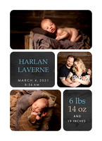 Joanna Jensen Photography Newborn Annoucement
