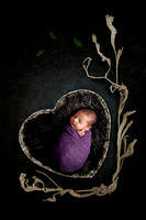 Navneet and Rocky Minhas - Newborn Baby Pictures